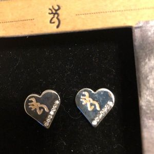 New Browning Stud Earrings